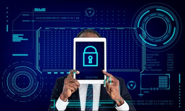 Toetsvergrendeling wachtwoordbeveiliging privacybescherming afbeelding