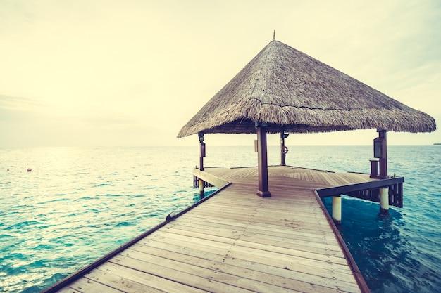 Toevlucht oceaan, natuur, landschap exotische