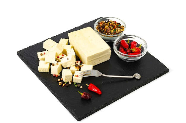 Tofu - sojamelkeiwitproduct.