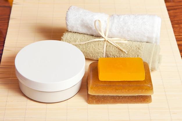Toiletaccessoires voor lichaamsverzorging, spa