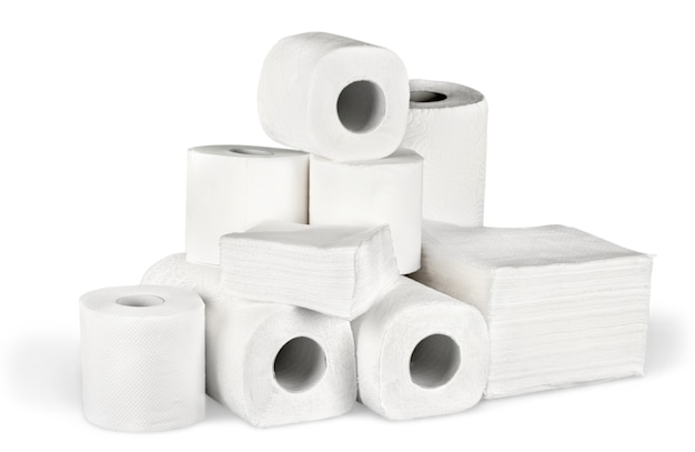 Toiletpapier en servetten