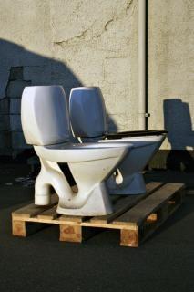 Toiletten, pallet
