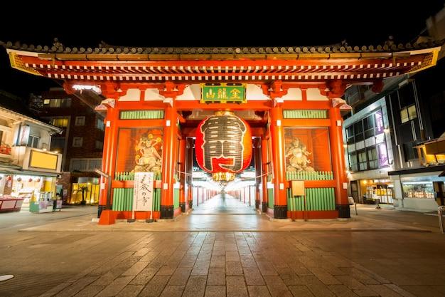 Tokio sensoji-tempel