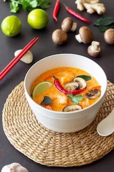 Tom jammie soep. thaise keuken. gezond eten. recepten nationale keuken