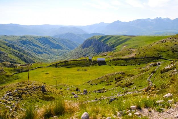 Toneel schoonheid van montenegro