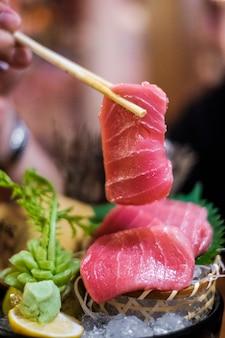 Tonijn sashimi