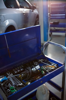 Toolbox reparatie garage
