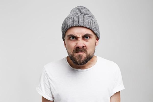 Toorn frustratie emoties gevoelens psychische stoornis concept.