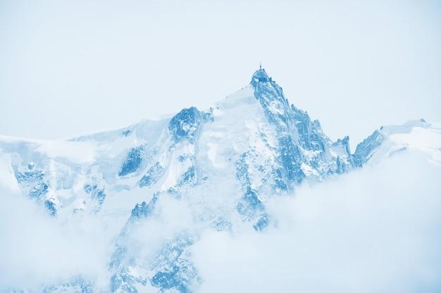 Top van bergen