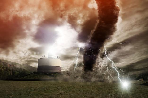 Tornado ramp