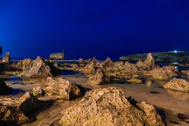 Toro beach, llanes, asturië, spanje