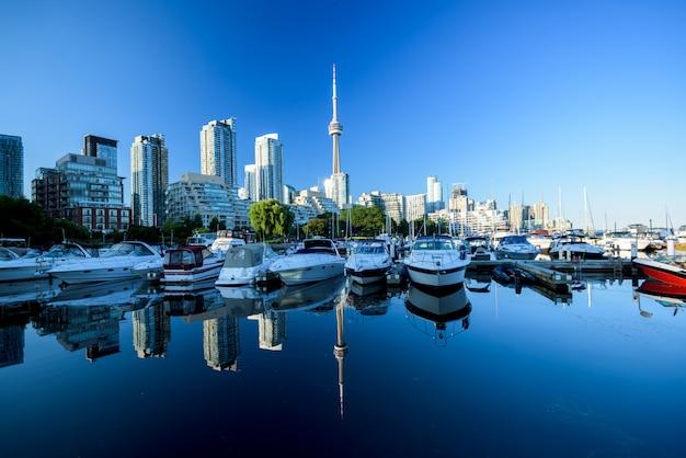 Toronto skyline van de stad