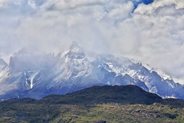 Torres del paine national park, patagonië, chili