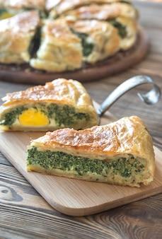 Torta pascualina - spinazie en ricotta tart