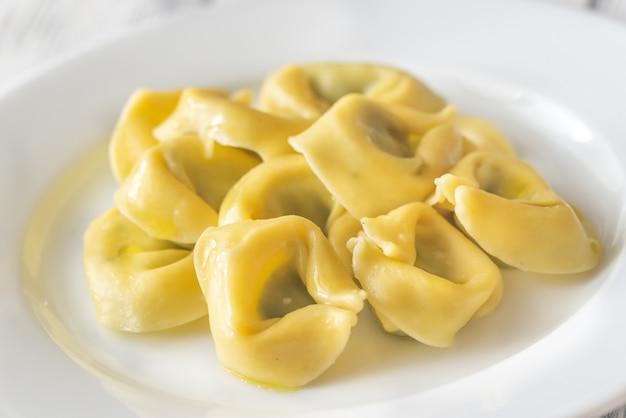 Tortelloni gevuld met ricotta