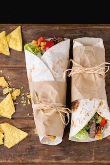 Tortilla's en nacho's
