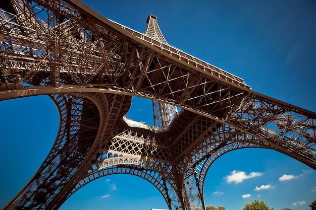 Tour eiffel, de eiffeltoren, parijs, frankrijk