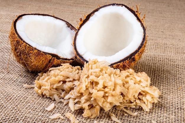 Traditioneel braziliaans dessert gemaakt van kokos