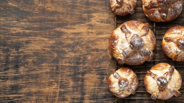 Traditioneel brood van dode samenstelling