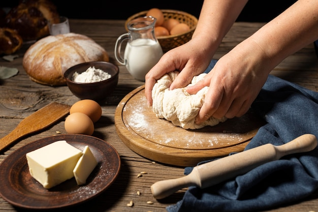 Traditioneel brood van dood makend