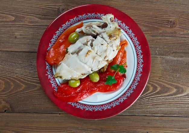 Traditioneel gerecht met dronken kip van shaoxing
