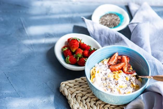 Traditioneel gezond ontbijt