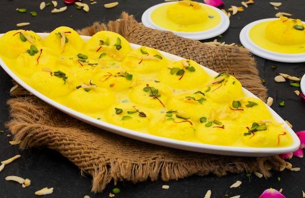 Traditioneel indisch dessert ras malai