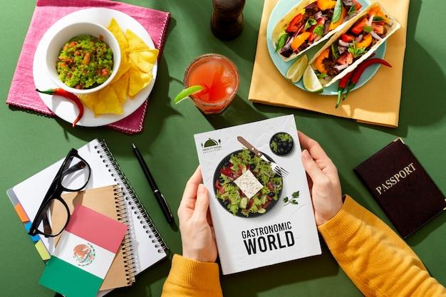 Traditioneel mexicaans eten op wereldtoerismedag
