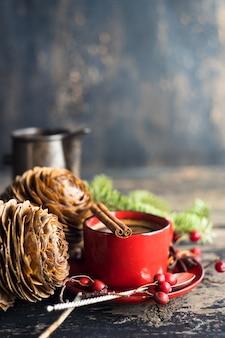 Traditioneel ontbijt in rustieke stijl
