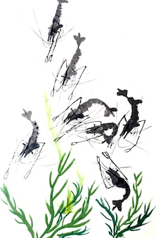 Traditioneel speciaal artistiek kader bloei japans