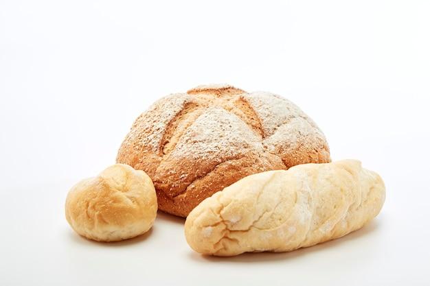 Traditioneel zelfgemaakt stokbrood