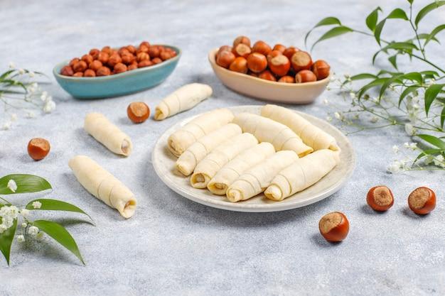 Traditionele azerbeidzjaanse vakantie novruz snoep mutaki.