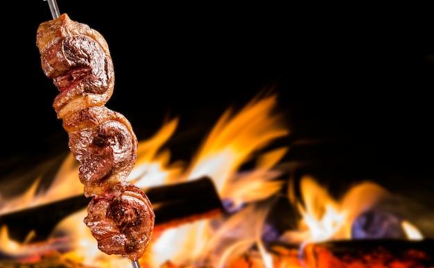 Traditionele braziliaanse barbecue