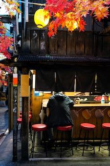 Traditionele japanse food court
