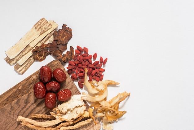 Traditionele kruiden gebruikt in alternatieve kruidengeneeskunde