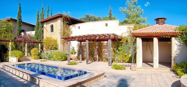 Traditionele mediterrane villa Premium Foto