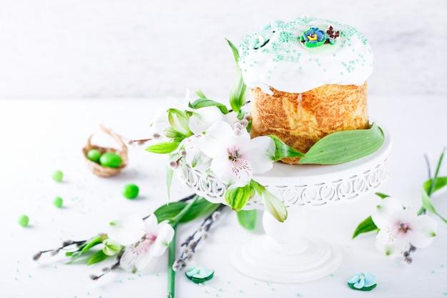 Traditionele pasen-cake. vakantie