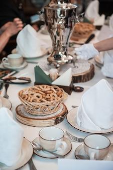 Traditionele russische gebakken goederen