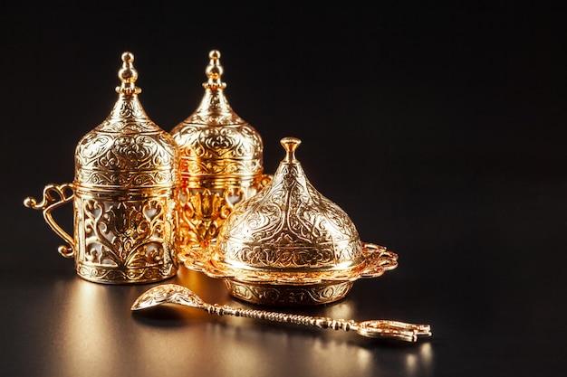 Traditionele turkse koffie