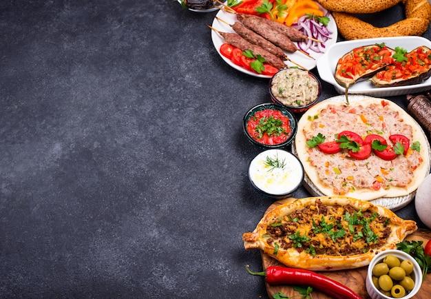 Traditionele turkse of midden-oosterse gerechten
