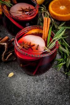 Traditionele winter glühwein