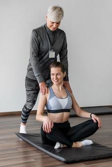 Train met personal trainer