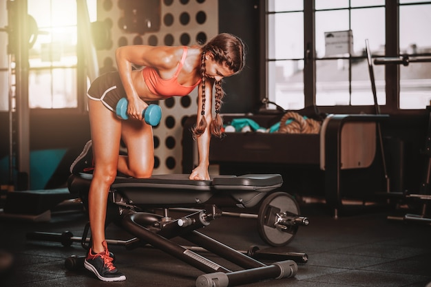Trainen bij gymclub