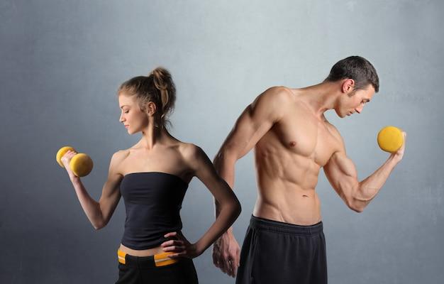 Trainen en fit blijven