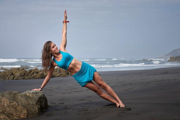 Trainen op het strand