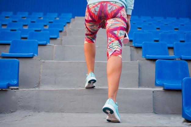 Training op de trappen