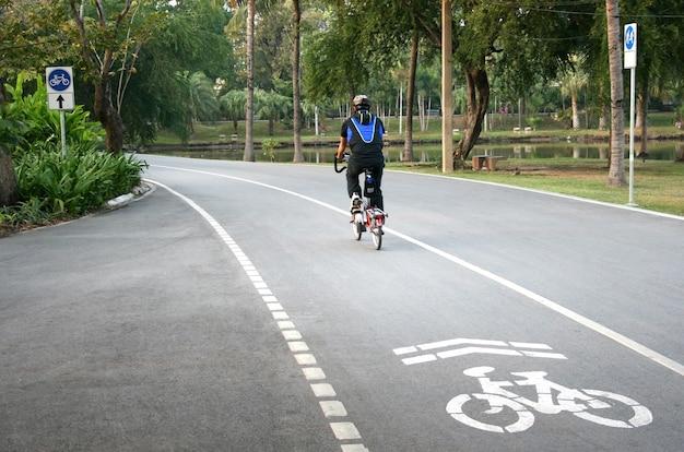 Traject voor fiets en fietsers