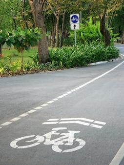Traject voor fiets
