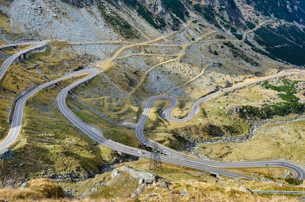 Transfagarasan bergweg