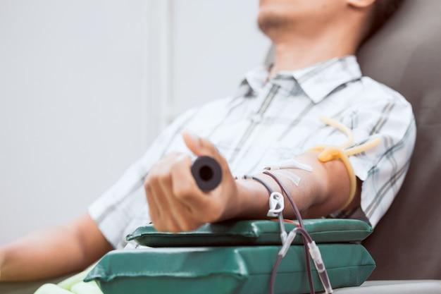 Transfusie bloeddonatie